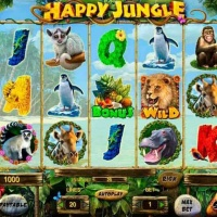 Казино ПлейФортуна и автомат Happy Jungle HD от Playson