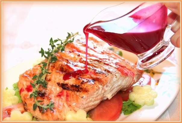 Красная рыба в белом соусе в духовке рецепт