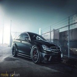 Авто:  Mercedes-Benz C 63 AMG Black Series Coupe C204 by Mode Carbon. Двигатель