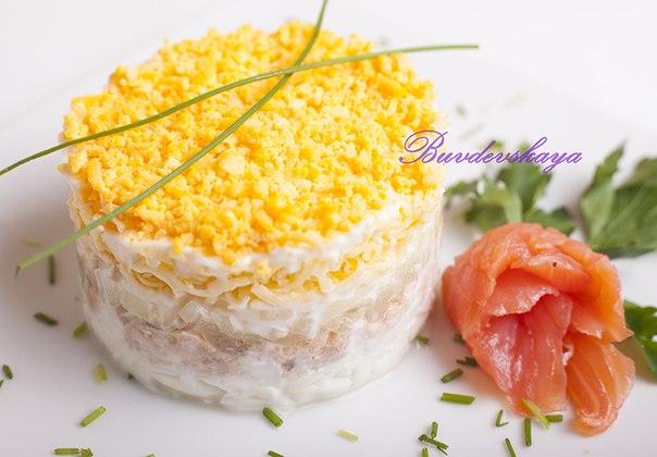 Салат мимоза высоцкая